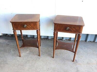 Pair of 1960's Bedside Cabinets