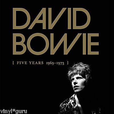 David Bowie Five Years 1969-1973 Essential Vinyl Boxed Set (Incomplete)
