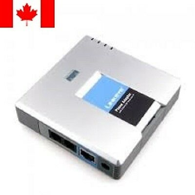 UNLOCKED LINKSYS PAP2T-NA SIP VOIP Phone Adapter with 2 Ports