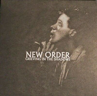 NEW ORDER - Grieving In The Shadows RARE Marbled Vinyl LP
