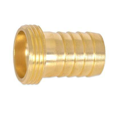 HydroSure 19mm Barbed Brass Accessory Connector with 3/4 BSP Male Thread