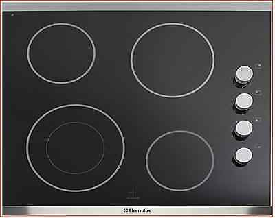 Electrolux IQ-Touch EI24EC15KS 24in Electric Cooktop 4 Cooking Zones and Rotary