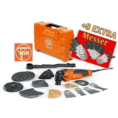Fein Multimaster FMM 350QSL Promotion-Set 48 Teile - 8 Extra Blätter