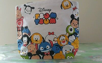 New Tsum tsum mickey mouse canvas lunch bag /tote bag