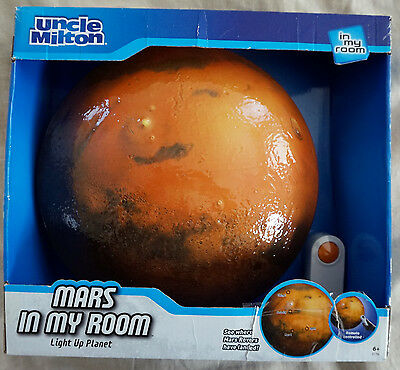 Mars In My Room Light Up Planet from Uncle Milton For Boys and Girls 6+