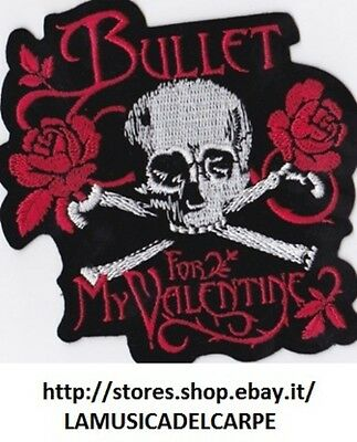 Toppa Termoadesiva Bullet For My Valentine Patch New!!