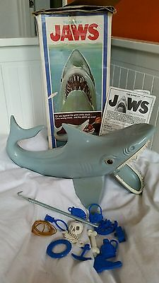 The Game of Jaws Vintage Boxed 1976 by Ideal Shark Complete