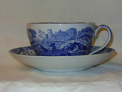 Large Spode Italian Pattern Cup And Saucer