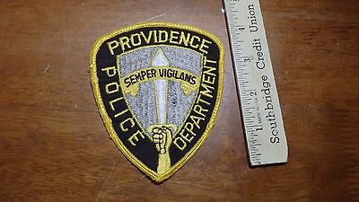 Providence Police Department Obsolete   Patch Bx E #5