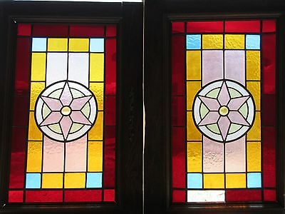 Stained Glass Windows Vintage European
