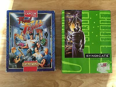 Capcom Final Fight & Syndicate By Bullfrog Productions Amiga Games