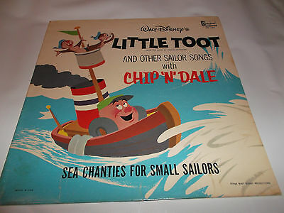 Little Toot And Other Sailor Songs Walt Disney