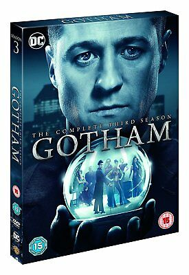 GOTHAM Complete Season Series 2 Collection 4 Disc Box Set NEW BLU-RAY
