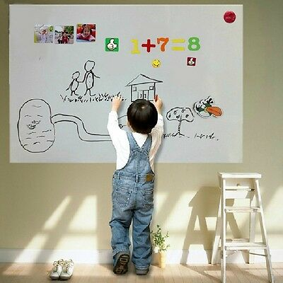 45*60cm Soft Magnetic Whiteboard Portable Erasable White Board Kids Office