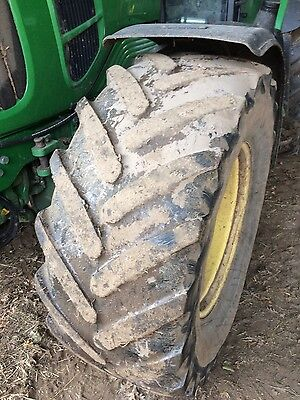 Tractor tyres 650/38 and 540/28