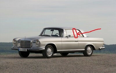 side Between window seals FOR MERCEDES 220se 250se 280se coupe w111 3.5 112