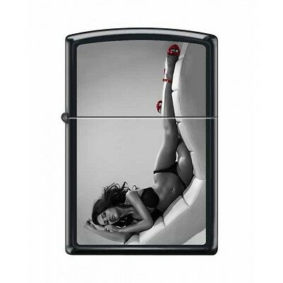 Zippo Very Rare Red Shoe Girl Series Iv #14 New