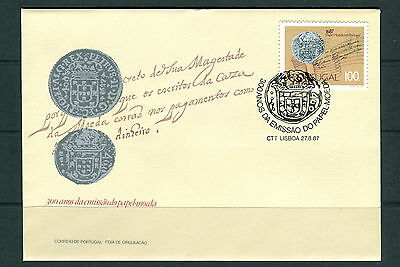1987 Portugal. Paper Currency, Coins. SG 2082. FDC. Silver Coin
