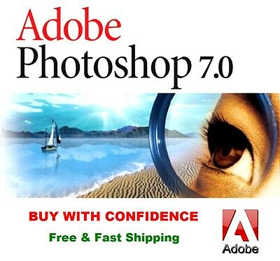 Adobe Photoshop 7.0 Photo Editing Software For Windows 100% Full Version