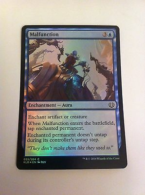 MTG Card - MALFUNCTION - FOIL RARE Kaladesh - NEW