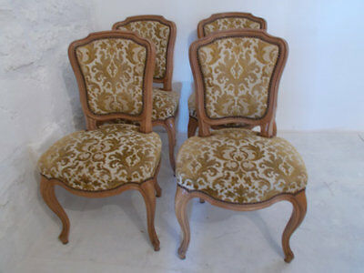 Set of Four Vintage Italian Chairs