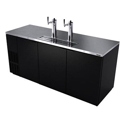 """Fagor FDD-79 80"""" Three Section Draft Beer Cooler"""