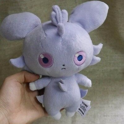 "Anime Pokemon Espurr 18cm/8"" Plush Doll Stuffed Toy New Collection Gift"