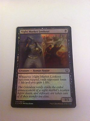 MTG Card - Night Market Lookout - FOIL RARE Kaladesh - NEW