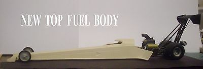 Resin New Style Top Fuel Body  1/25  Scale