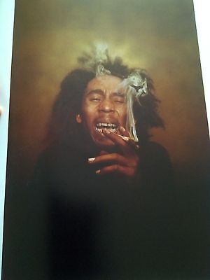 Bob Marley 1975 Relaxing !?! 28x19cm to frame