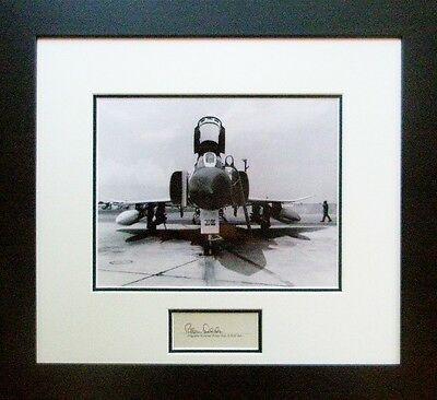 F4 Phantom! - w/ Autograph of American Fighter Ace Robin Olds