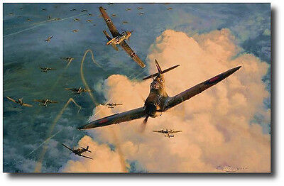 Valiant Response - The Hardest Days Part III by Robert Taylor- Spitfire - 3 Sigs
