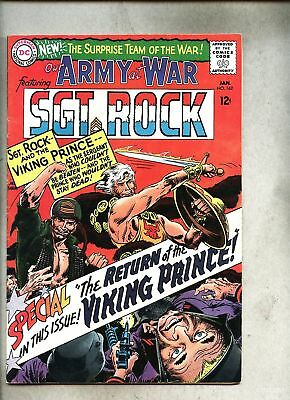 Our Army At War #162-1966 fn/vg Sgt. Rock Viking Prince