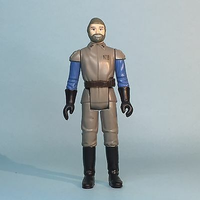 Vintage Star Wars General Madine Made In Taiwan Moulded Face Variant