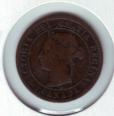 Canada VG10 1891 LDLL Large cent  Victoria
