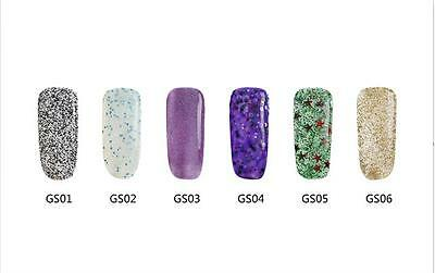 Bluesky GLITTER STACK COLLECTION UV/LED Soak Off Gel Nail Polish 10ml Free Post