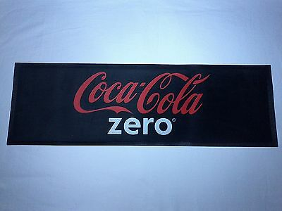 Coca Cola Coke Zero Bar Runner Beer Drip Mat New