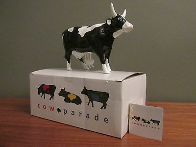 Cow Parade MOOZART Figurine #9179 New in Box, Retired