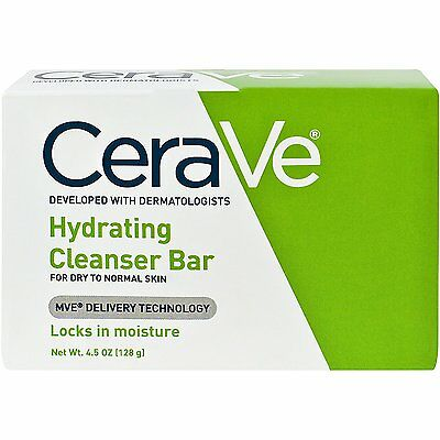 CeraVe Hydrating Cleansing Bar (4.5 oz/ 128g)