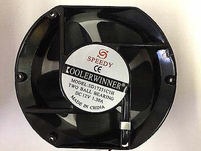 "BRAND NEW Univeral 150mm / 6""Inch 12V DC Oil Cooling Fan / Cooler Fan"