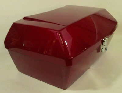 R101 Red TRUNK FOR HONDA HELIX CN250 Fusion CN 250 Piaggio