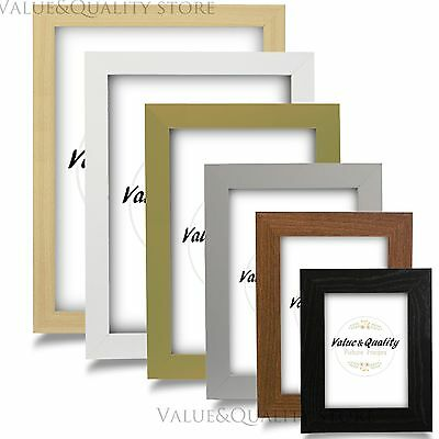 Photo Picture Poster Frame Black Beech Gold Silver Walnut White A1 A2 A3 A4 More