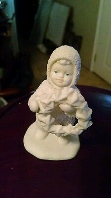 Snow Baby w/ wreath 1994 Avery Collection in box
