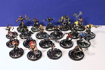 Mixed Lot of 20 Mage Knight Figures 92416