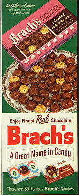 1956 Vintage ad for Brach's Chocolate miniatures/milk chocolate (062013)