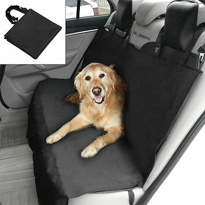 Waterproof Dog Car Seat Covers Back Hammock Protector Mat Pet Cat Blanket Black