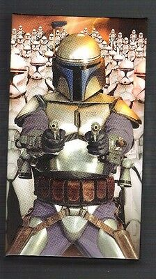 Star Wars Attack of the Clones 3D widevision trading card set in box Topps AOTC