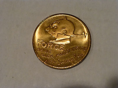 vintage old Sunny Jim Bring Back Prosperity FORCE wheat flake cereal token coin