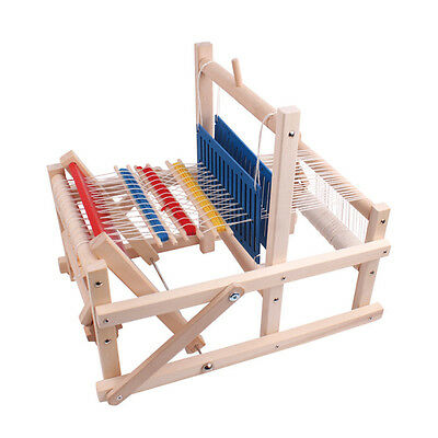 Portable Wood Hand Looms Girl Making Wool Toys DIY Weave Educational Toys