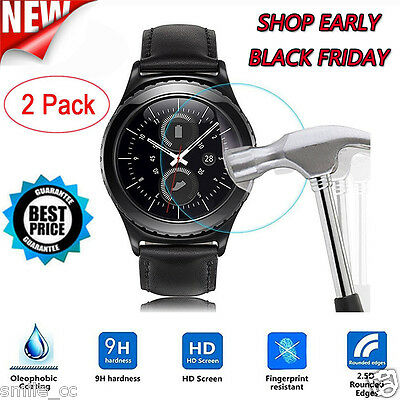 2 PCS Frosted Scrub Screen Protector Film For Samsung Gear S3 Classic NEW